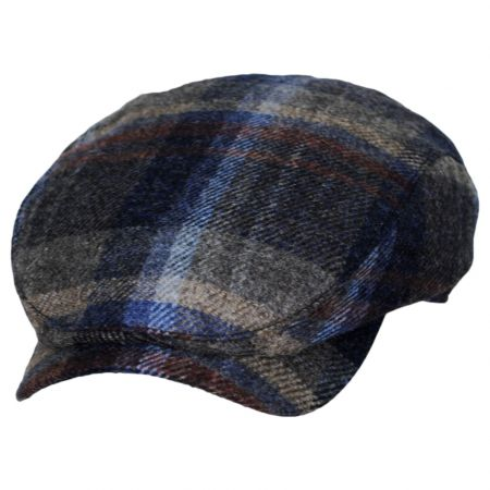 Wigens Caps Robert Noble Plaid Scottish Wool Ivy Cap