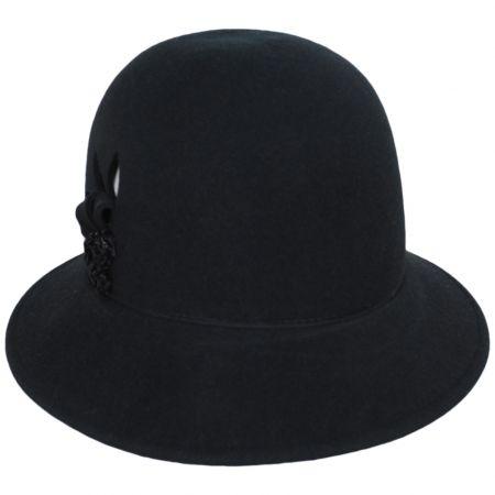 Betmar Joelle Wool Felt Cloche Hat