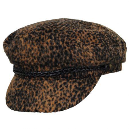 Brixton Hats Ashland Animal Print Fiddler's Cap