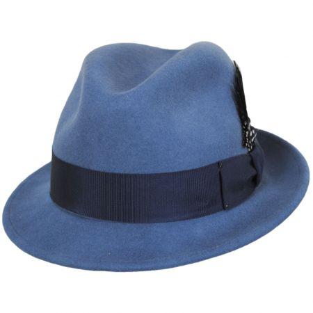 Tino Wool Felt Trilby Fedora Hat alternate view 18