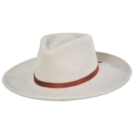 Quintana Wool Felt Rancher Fedora Hat