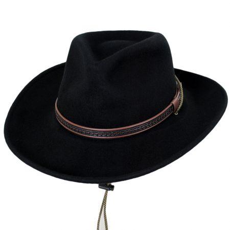 Tempest Crushable Wool Felt Rancher Hat