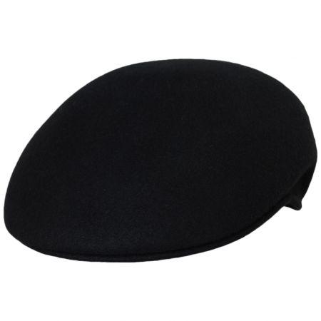 Scala Capper Earlap Wool Felt Ascot Cap