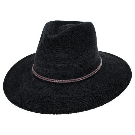 Celaya Knit Chenille Safari Fedora Hat
