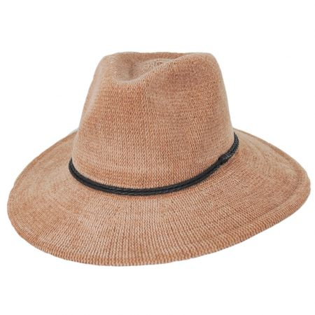Celaya Knit Chenille Safari Fedora Hat alternate view 5