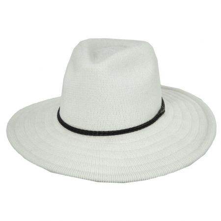 Scala Celaya Knit Chenille Safari Fedora Hat