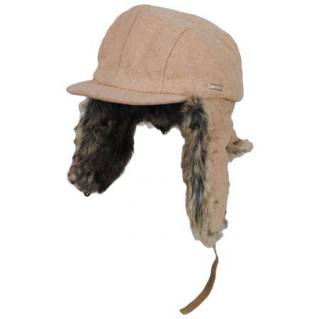 Wool Blend Aviator Hat