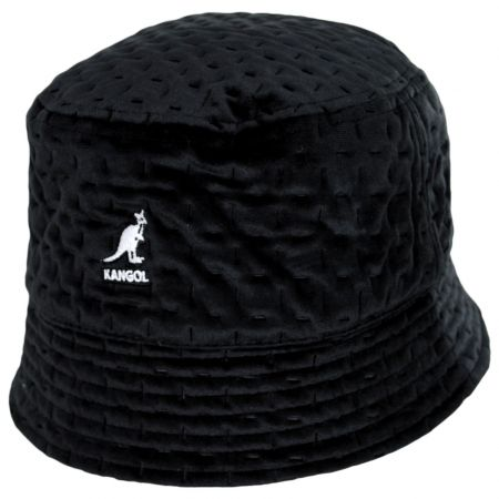 Kangol Dash Quilted Bin Bucket Hat with Earflaps
