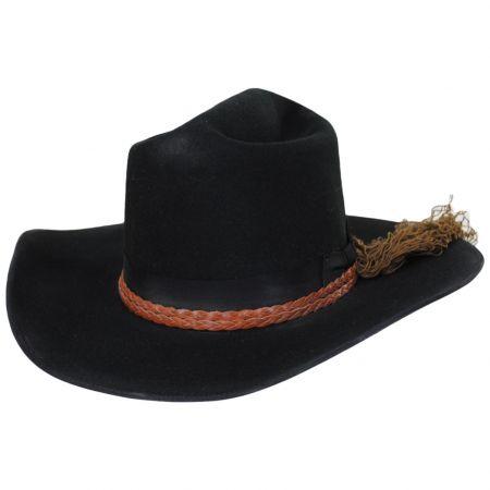 John Wayne Cogburn Wool Felt Western Hat
