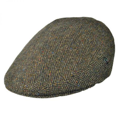 City Sport Caps Herringbone Donegal Tweed Ivy Cap