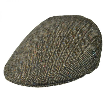 City Sport Caps Donegal Tweed Herringbone Ivy Cap