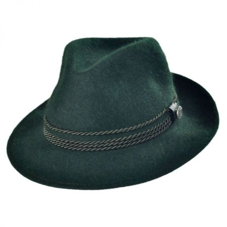 Bavaria Fur Felt Fedora Hat