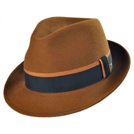 Mayser Hats Michael Zechbauer Nicolai Wool Felt Fedora Hat