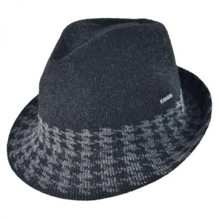 Kangol Hounds Stripe Arnold Fedora Hat