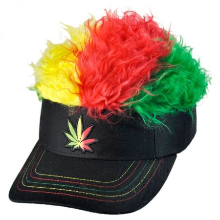 Flair Hair Rasta Visor