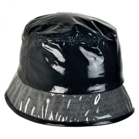 Vinyl and Tweed Rain Hat