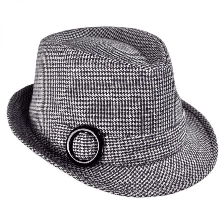 Hi-Dee-Ho Houndstooth Fedora Hat - Child