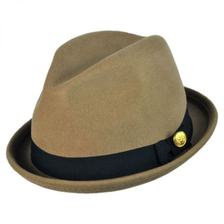 Christys' Crown Series Union Stingy Brim Wool Fedora Hat
