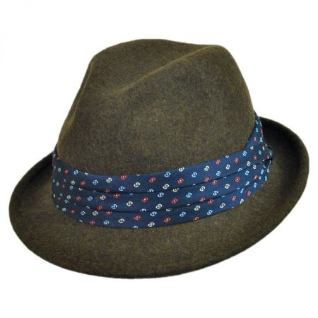 Christys' Crown Series Grant Fedora Hat