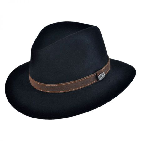 Borsalino Crushable Fur Felt Safari Hat