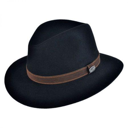 Borsalino Crushable Fur Felt Safari Hat