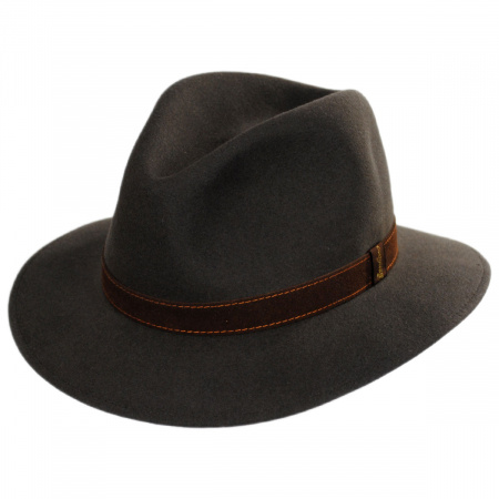 Traveler Fur Felt Fedora Safari Hat alternate view 13