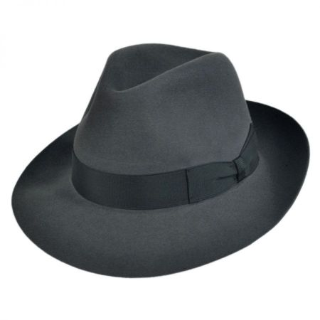Dolce Fur Felt Fedora Hat