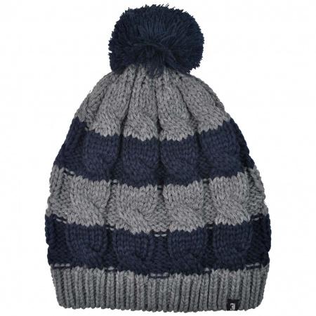 Bowery Pom Knit Acrylic Beanie Hat
