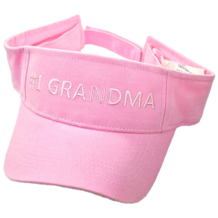 B2B #1 Grandma Cotton Adjustable Visor