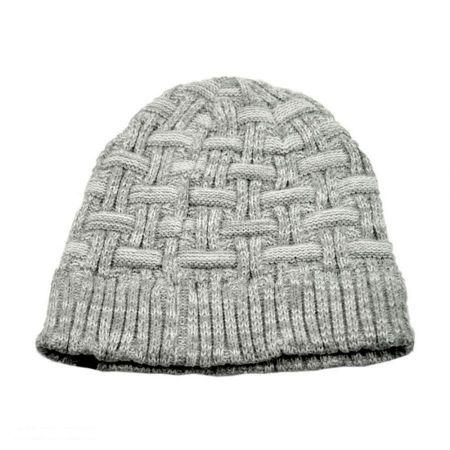 B2B Jaxon Basketweave Beanie Hat