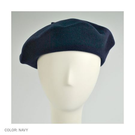B2B Jaxon Basque Beret (Navy)