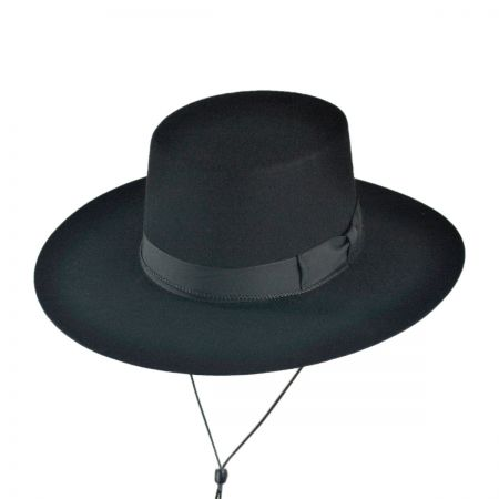 B2B Jaxon Classics Bolero Hat - Made in the USA (Black)