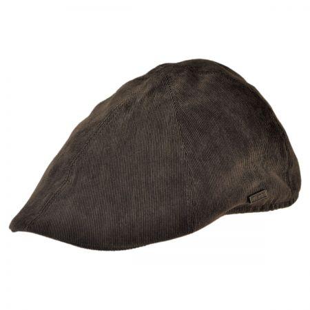B2B Jaxon Corduroy Duckbill Ivy Cap (Brown)