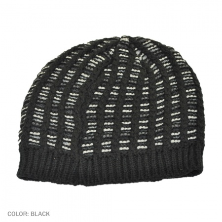 B2B Jaxon Eastside Beanie Hat (Black)