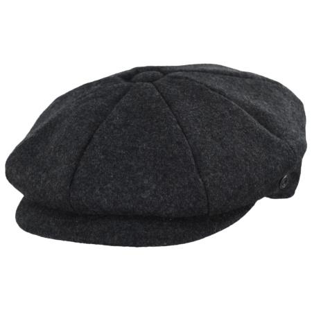 B2B Jaxon Harlem Krupke Wool Blend Newsboy Cap