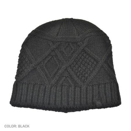 B2B Jaxon Kensington Beanie Hat (Black)