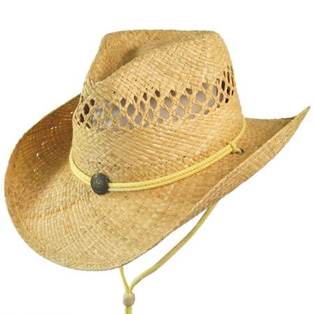 B2B Jaxon Maggie May Straw Western Hat
