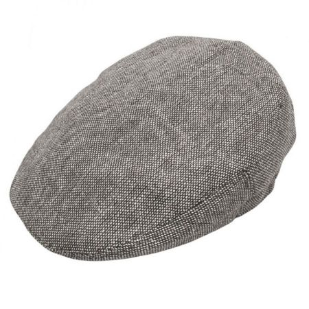 B2B Jaxon Marl Tweed Ivy Cap (Black)