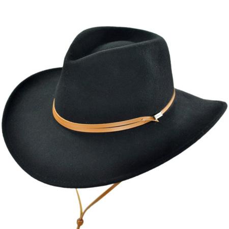B2B Jaxon Outback Hat with Chincord (Black)