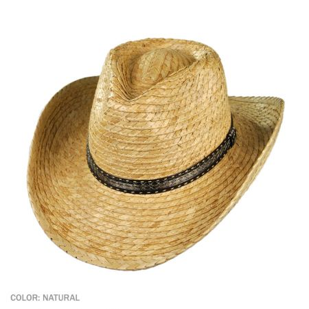 B2B Jaxon Palm Outback Hat (Natural)