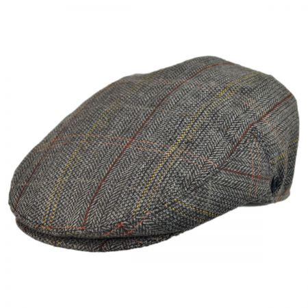 B2B Jaxon Tweed Ivy Cap (Brown/Grey)