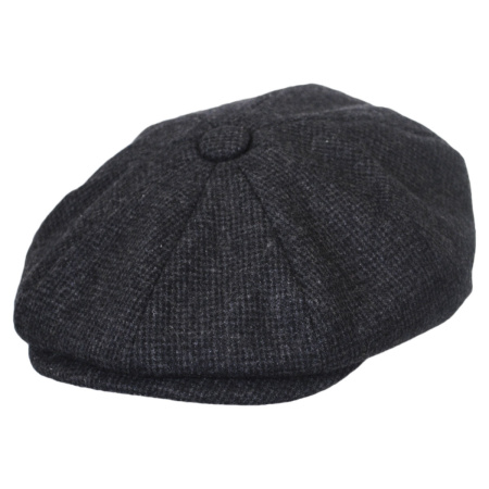 B2B Jaxon Union Newsboy Cap (Charcoal)