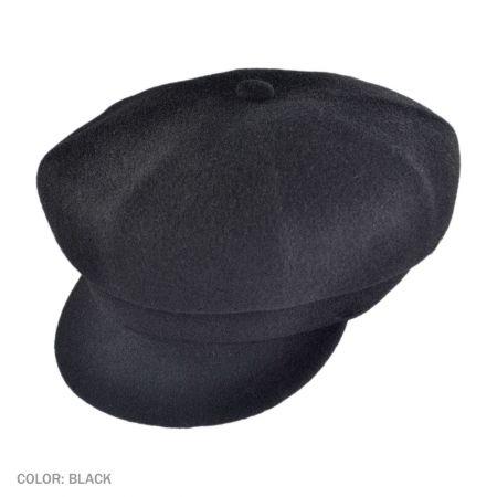 B2B Jaxon Wool Spitfire Cap (Black)