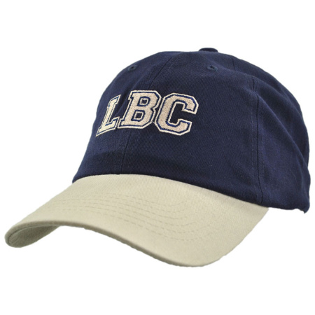 B2B LBC Ball Cap (Navy/Khaki)