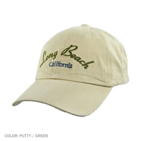 B2B Long Beach Ball Cap (Putty/Green)