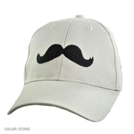 B2B Mustache Ball Cap (Stone)