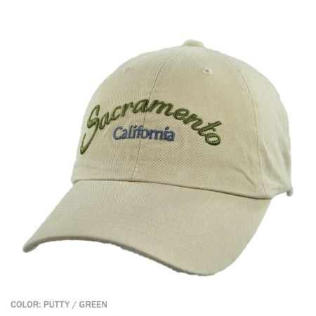 B2B Sacramento Ball Cap (Putty/Green)