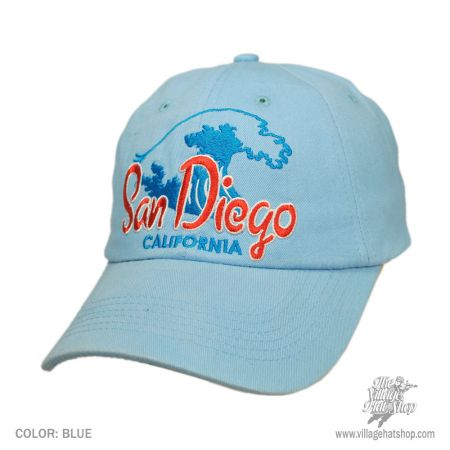 B2B San Diego California Waves Baseball Cap (Blue)