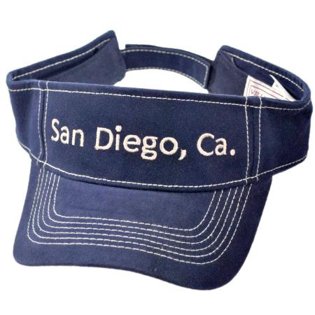 B2B San Diego, CA Visor (Navy/Khaki)