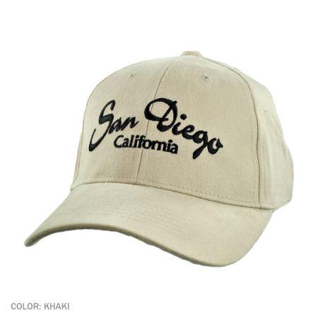 B2B San Diego, California Ball Cap (Khaki)